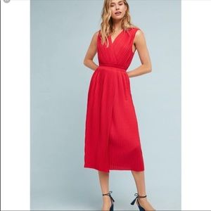 NWT Tracy Reese Pleated Midi Dress